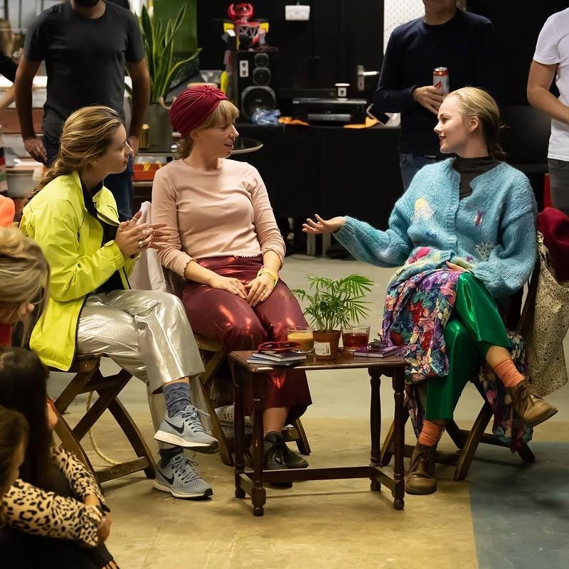 Rejoining Jane  at Caffe Clifton - Bristol
