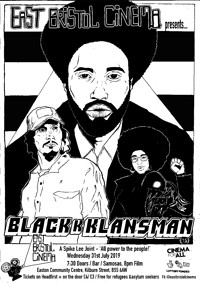 East Bristol Cinema presents BlacKkKlansman in Bristol