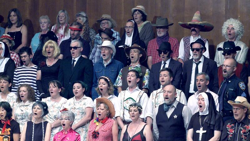 Gurt Lush Choir birthday concert - part 2 in Bristol 2019