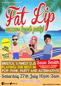 ★ FAT LIP ★ Summer Beach Party!  in Bristol