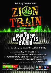 Zion Train / Dub From Atlantis Band in Bristol