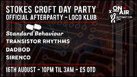 Stokes Croft Day Party - Official Afterparty in Bristol