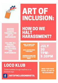 How Do We Halt Harassment? in Bristol