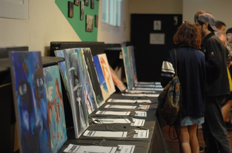 Art Battle September at The Trinity Centre