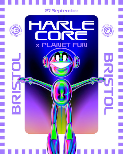 HARLECORE X PLANET FUN tickets