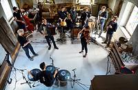 Manu Delago Ensemble in Bristol