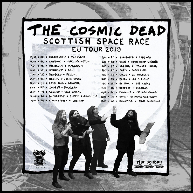 The Cosmic Dead  in Bristol 2019