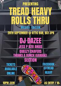Tread Heavy Rolls Thru in Bristol
