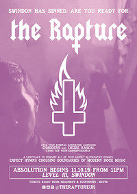 ✞ The Rapture - Swindon Launch Party ✞ in Bristol