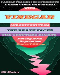A very vinegar bonanza w/Vinegar + the BRAVE FACES in Bristol