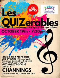 Les QUIZerables the singing quiz in Bristol