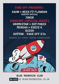 TakeOff Presents: Kahn&Neek ft Flowdan, Joker+More in Bristol