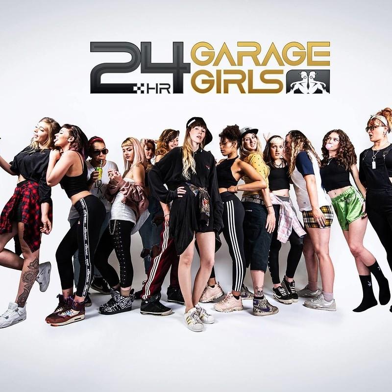 24hr Garage Girls - Halloween Boat Party in Bristol 2019