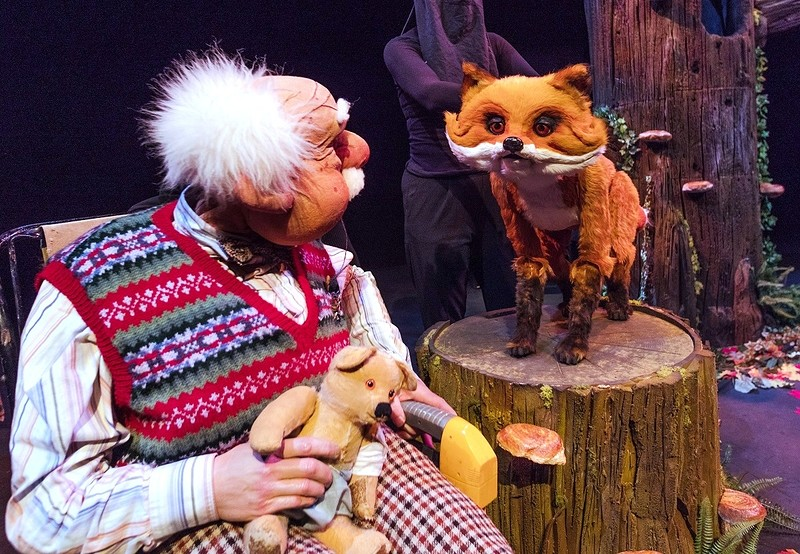 Woodland Tales With Granddad at The Wardrobe Theatre