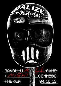 Bandulu Gang all night at Thekla in Bristol