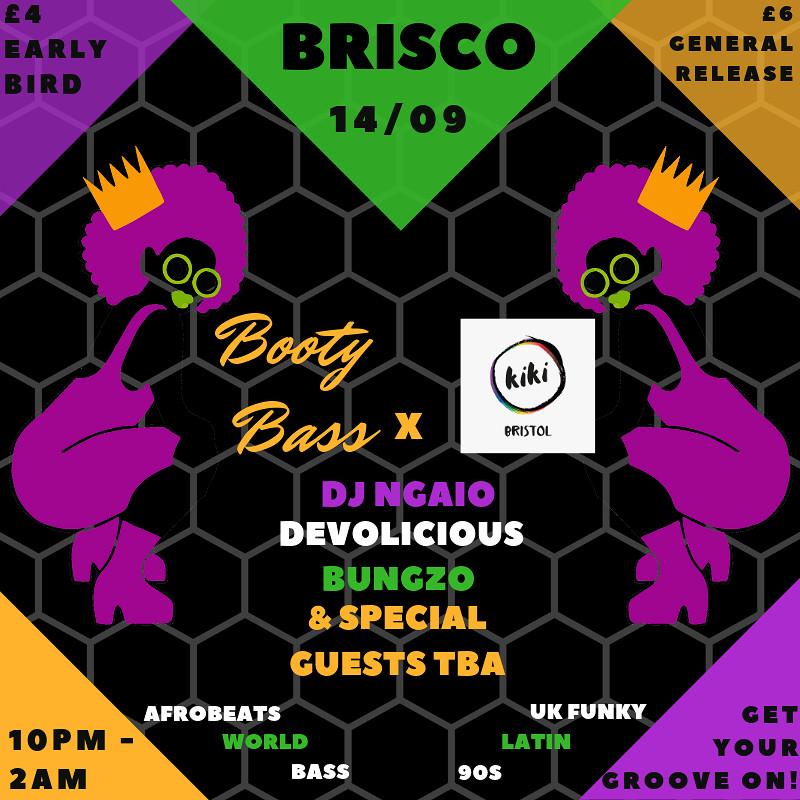 Booty Bass x Kiki Bristol at BRISCO
