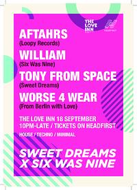 Sweet Dreams x Six Was Nine w/ AFTAHRS in Bristol