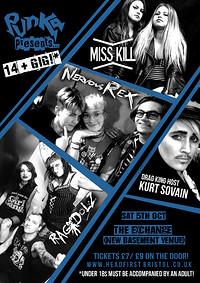 Punka Presents: Miss Kill, Nervous Rex and Ragdolz in Bristol