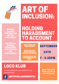 Art of Inclusion: Holding Harassment to Account in Bristol