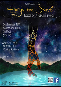 Emrys the Brave EP Launch in Bristol
