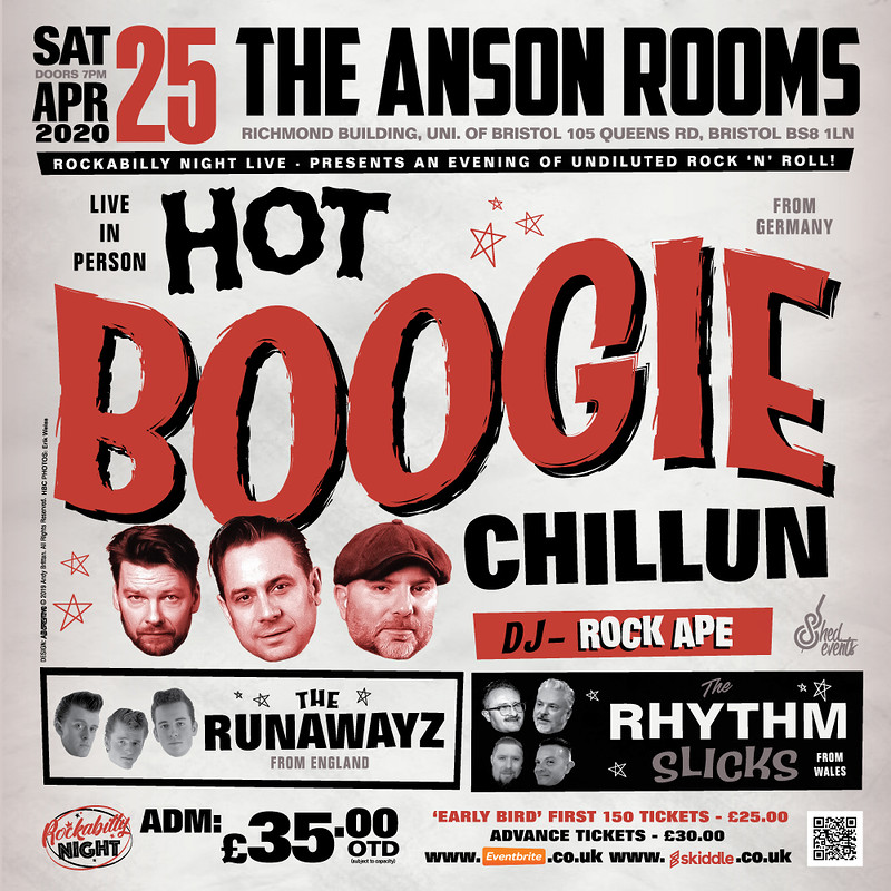 Hot Boogie Chillun + Special Guests  in Bristol 2020