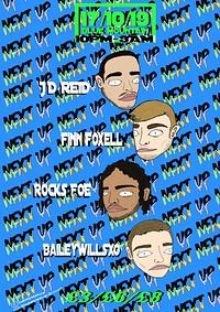Next Up Presents: JD. Reid, Finn Foxell, Rocks FOE in Bristol