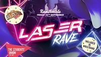 Ramshackle: Freshers Laser Rave in Bristol