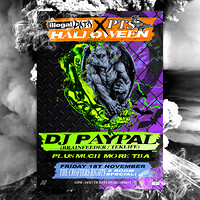 PTS x Illegal Data Halloween in Bristol