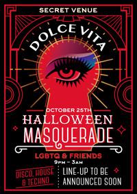 Dolce Vita Halloween Masquerade in Bristol