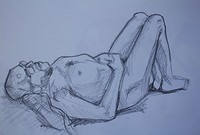 Life Drawing at HOURS Space in Bristol