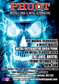 PHUCT - Bristol's Rock & Metal Alternative in Bristol