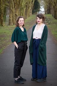 Julu Irvine & Heg Brignall in Bristol