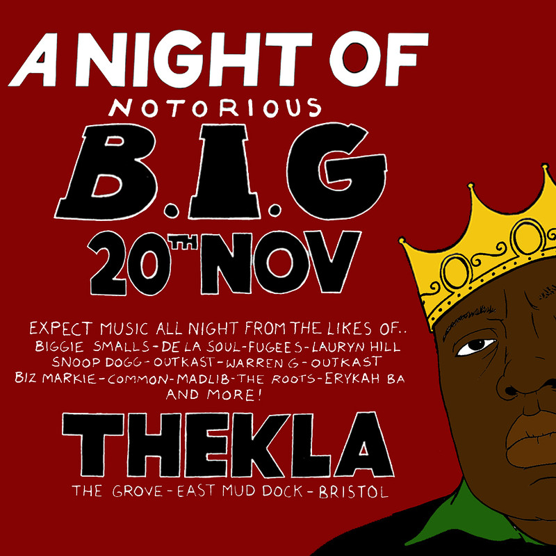 A Night Of: The Notorious B.I.G at Thekla