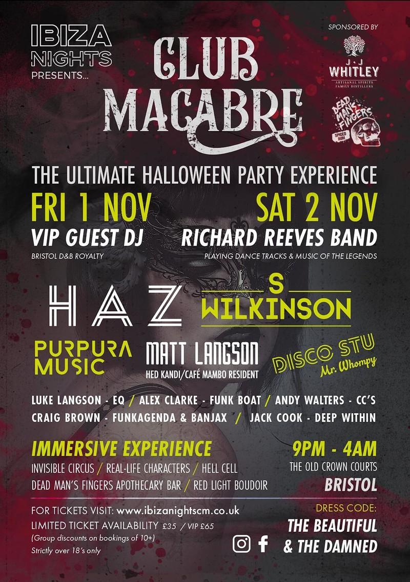 Club Macabre  in Bristol 2019