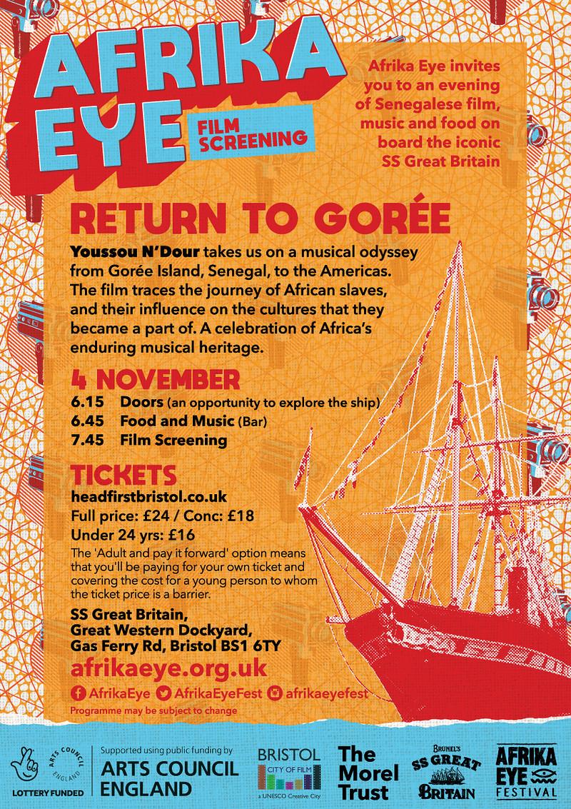 Return To Goree - Afrika Eye at SS Great Britain