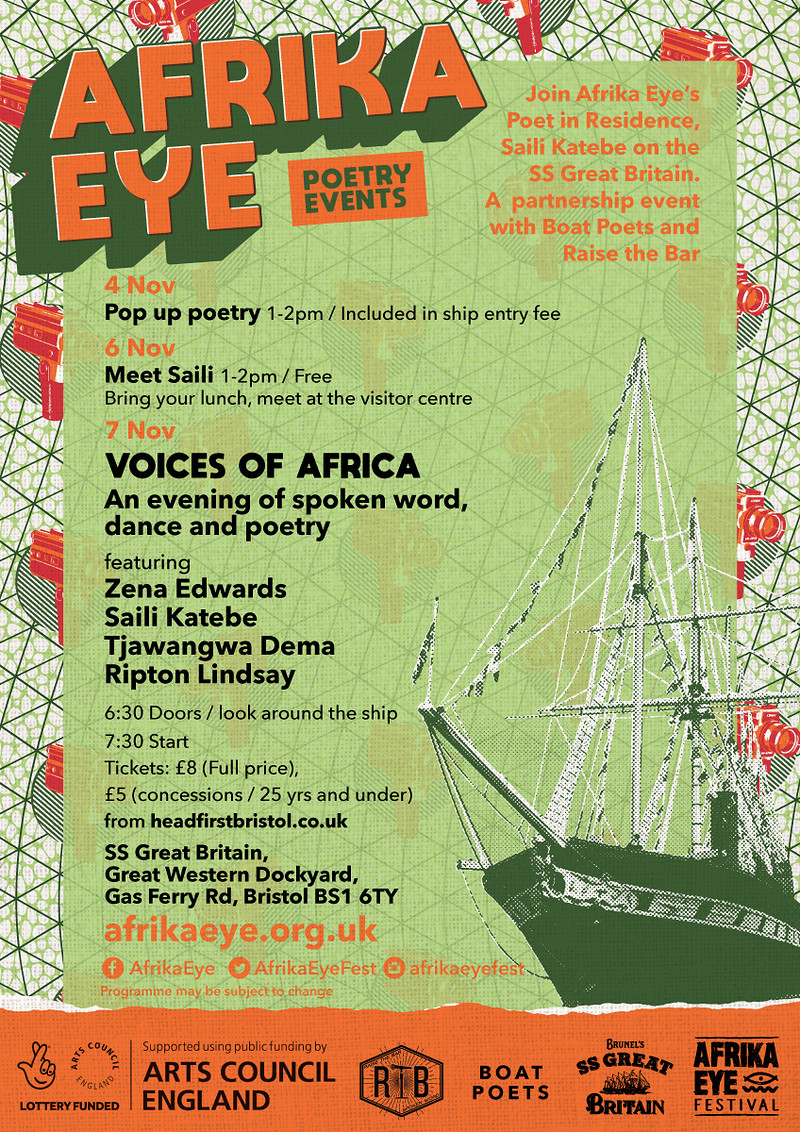 Voices Of Africa - Afrika Eye at SS Great Britain