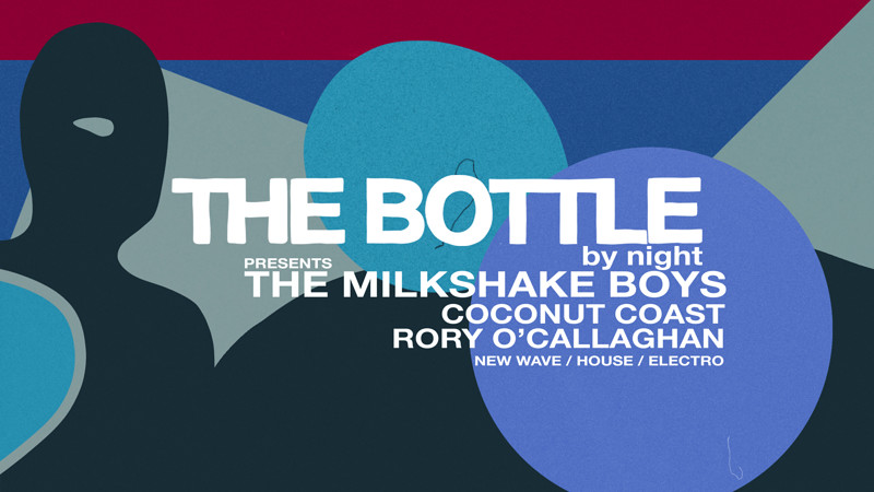 The Bottle by night w/ The Milkshake Boys at The Arts House