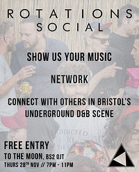 Rotations Social [FREE ENTRY] in Bristol