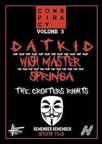 Conspiracy Volume 3 (Bonfire Night): Datkid in Bristol
