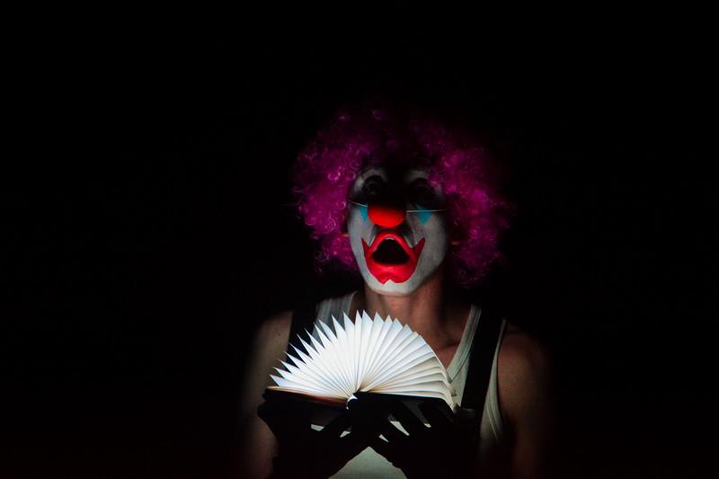 Clown at The Loco Klub