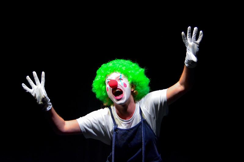 Clown in Bristol 2019