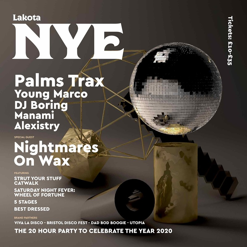 Lakota NYE: Palms Trax | Nightmares On Wax & More at Lakota