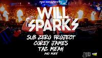 Will Sparks, Sub Zero Project, Corey James & more! in Bristol