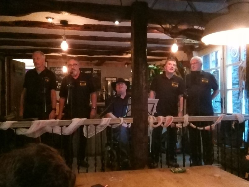 The Steepholmers - Sea Shanties at Fork n Ale in Bristol 2019