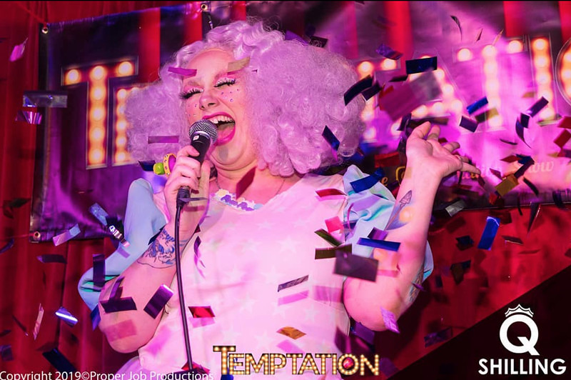 Temptation Seduction - (WAD Fundraiser) at Queenshilling