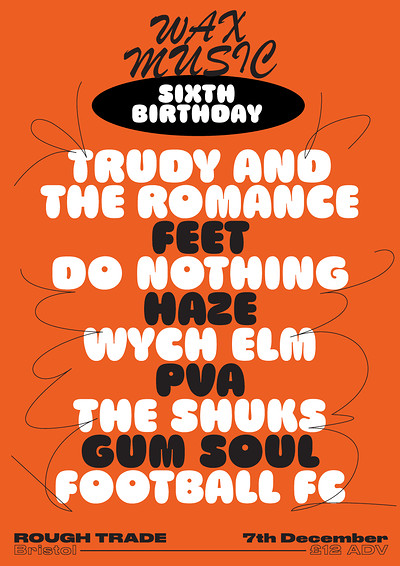 Wax Music Sixth Birthday tickets