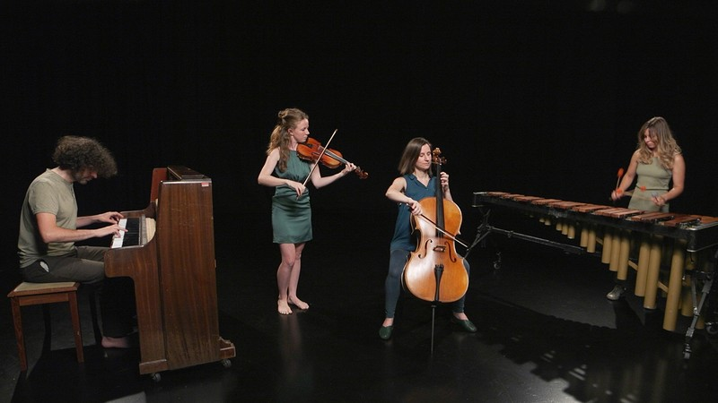 Spindle Ensemble at St Stephens Church in Bristol 2019