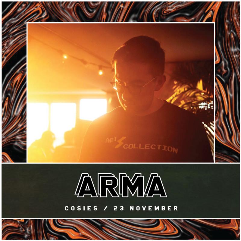 Pixels Presents: Arma / Dutchie / Namaste at Cosies
