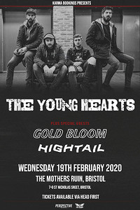 The Young Hearts plus Gold Bloom in Bristol
