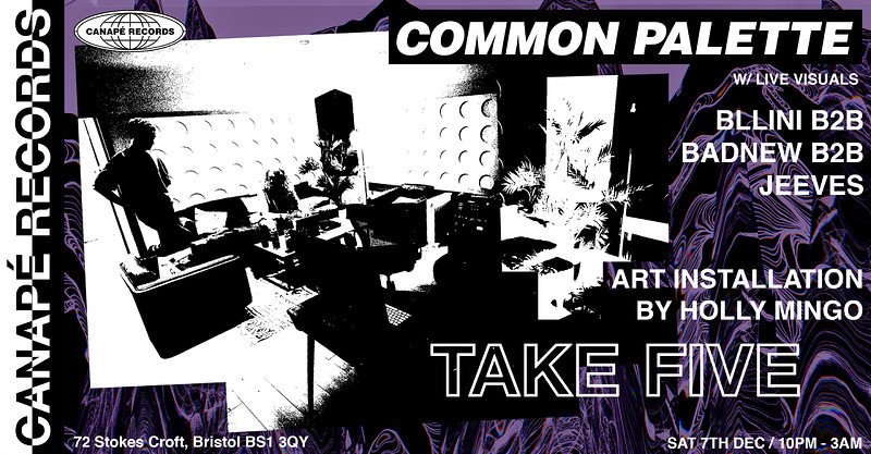 CANAPÉ x Common Palette at Take Five Cafe